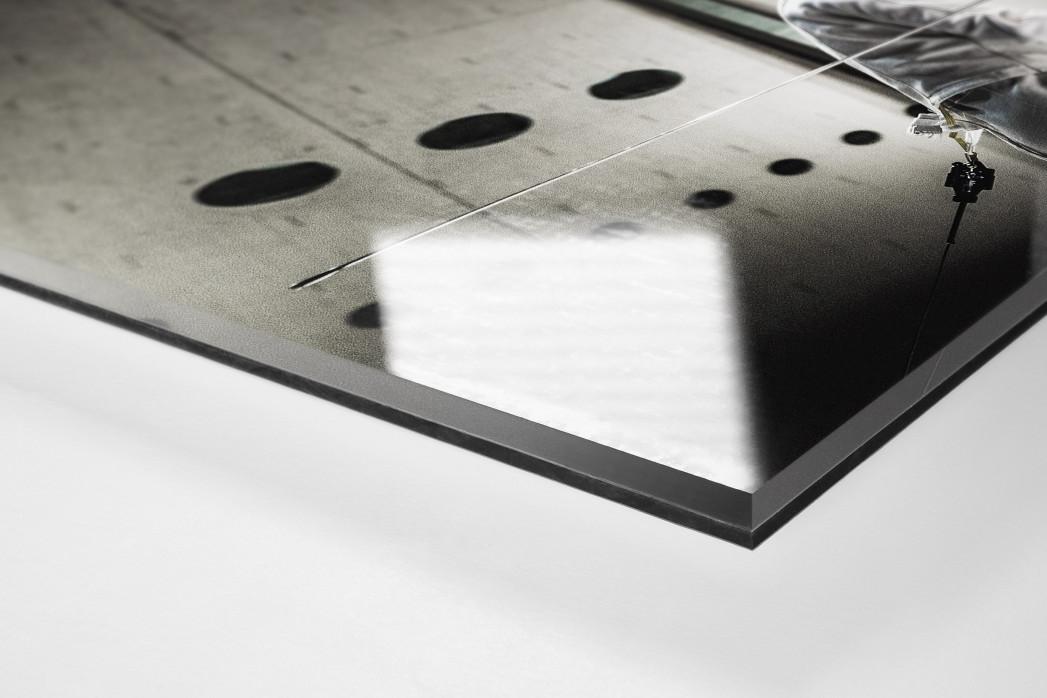 Fechten im Kuppelsaal als Direktdruck auf Alu-Dibond hinter Acrylglas (Detail)