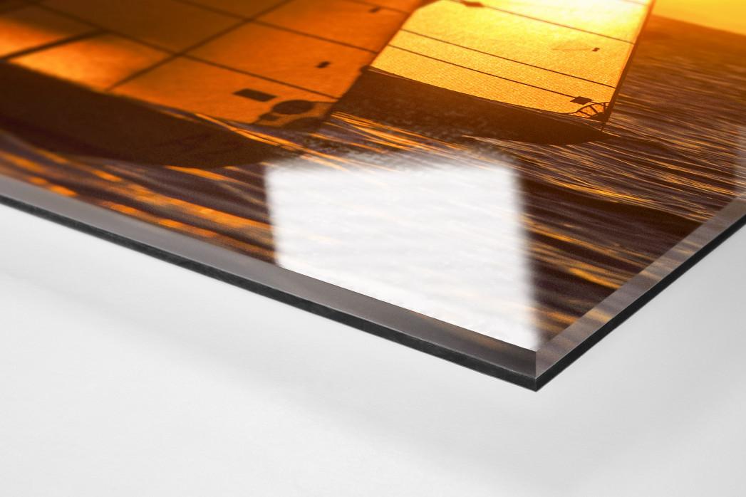 Barcolana (7) als Direktdruck auf Alu-Dibond hinter Acrylglas (Detail)