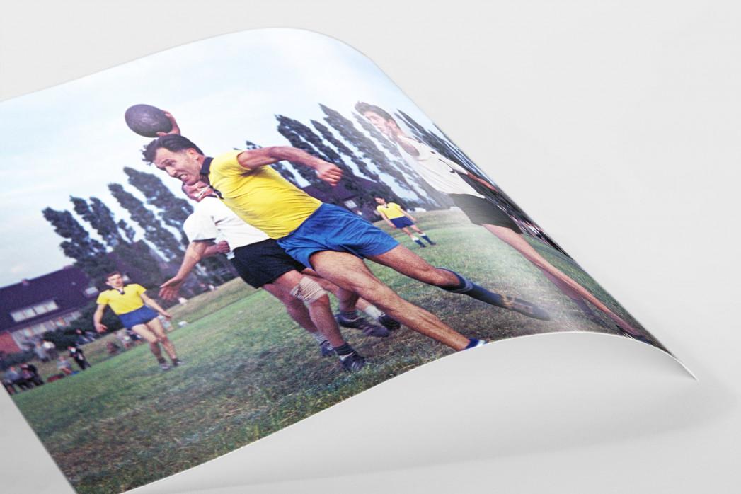 Feldhandball in den Sechzigern als FineArt-Print