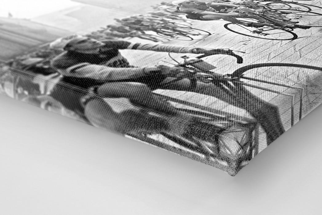 Am Mailänder Dom als Leinwand auf Keilrahmen gezogen (Detail)