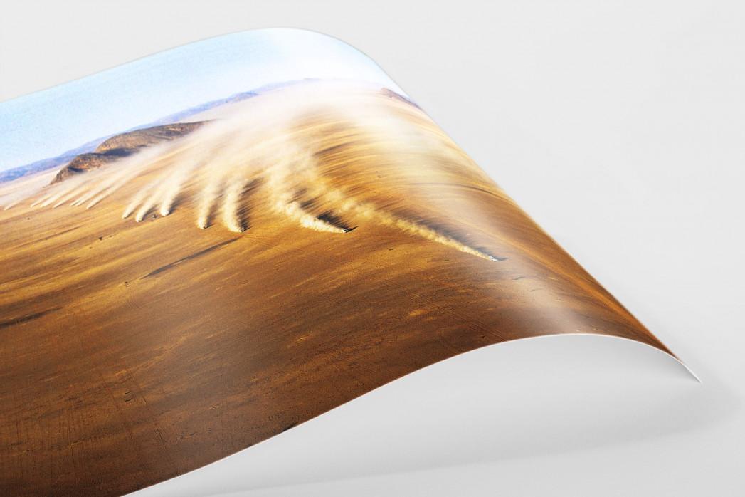 Autos im mauretanischen Sand als FineArt-Print