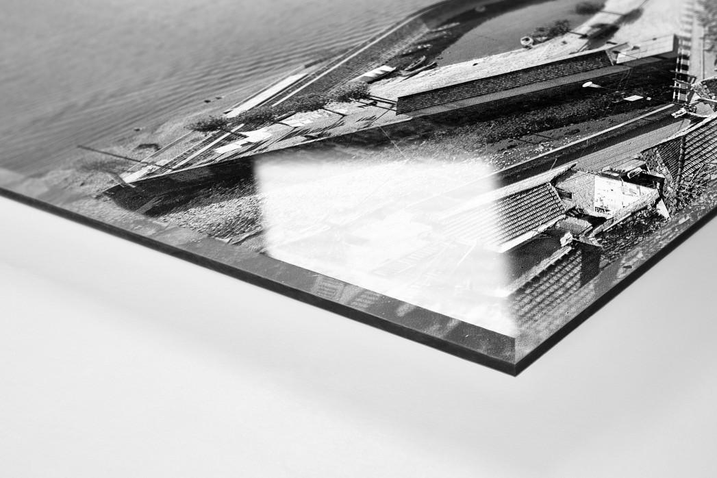 Lombardei-Rundfahrt 1961 als Direktdruck auf Alu-Dibond hinter Acrylglas (Detail)