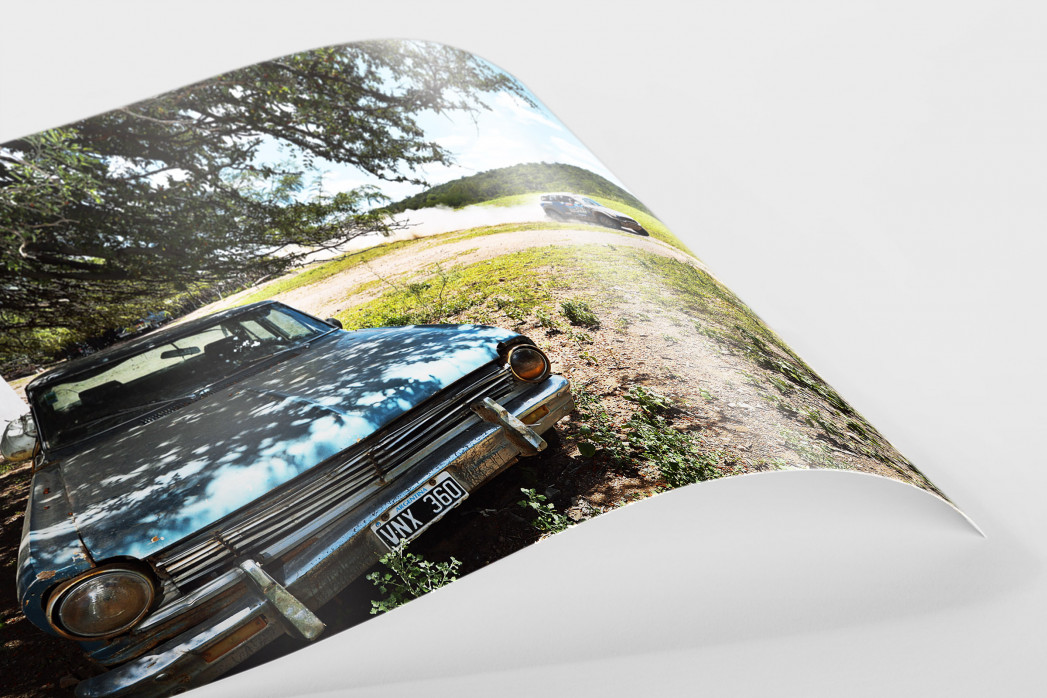 Bei der Rallye in Argentinien als FineArt-Print
