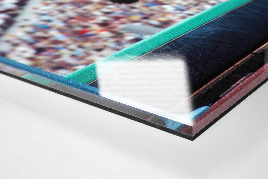 Drüber als Direktdruck auf Alu-Dibond hinter Acrylglas (Detail)