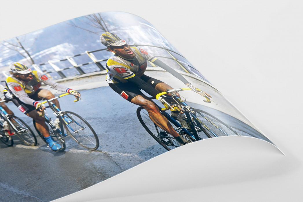 Schmutzig bei Mailand-Sanremo als FineArt-Print