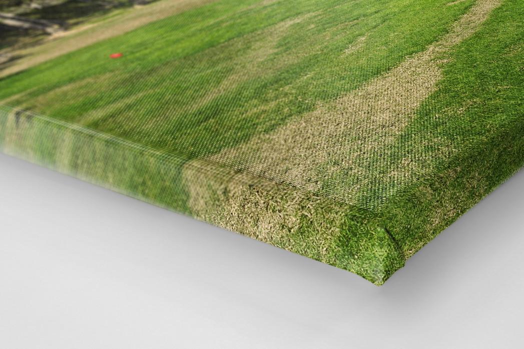 Benidorm Golfresort als Leinwand auf Keilrahmen gezogen (Detail)