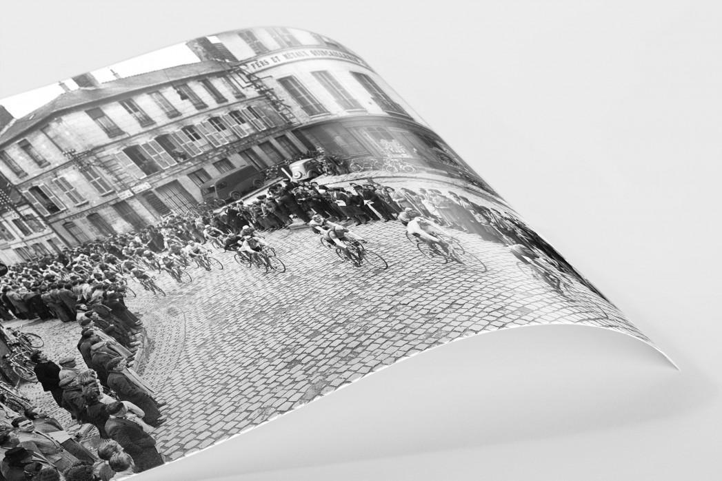 Kurve bei Paris-Roubaix als FineArt-Print