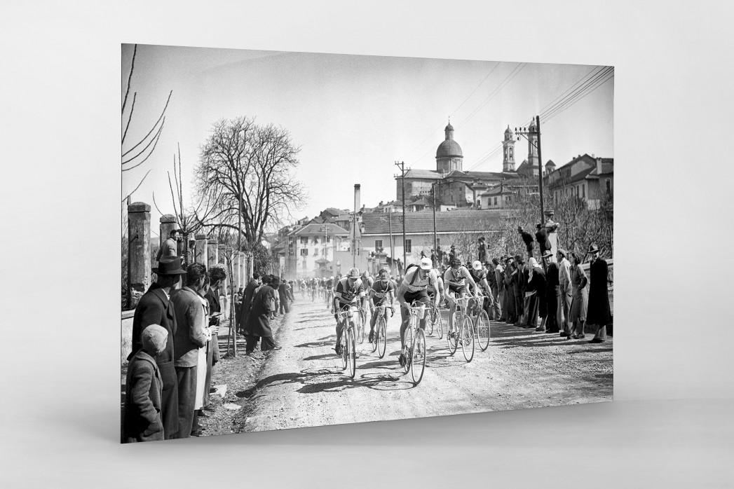 Mailand-Sanremo 1955 als auf Alu-Dibond kaschierter Fotoabzug