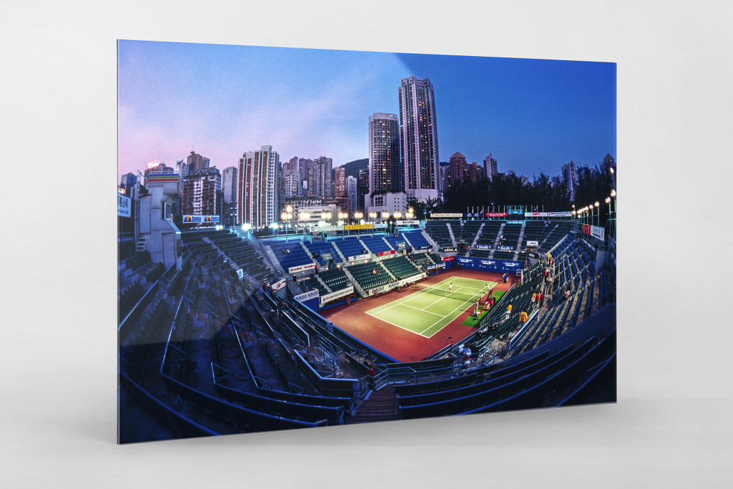 Centre Court in Hongkong als Direktdruck auf Alu-Dibond hinter Acrylglas