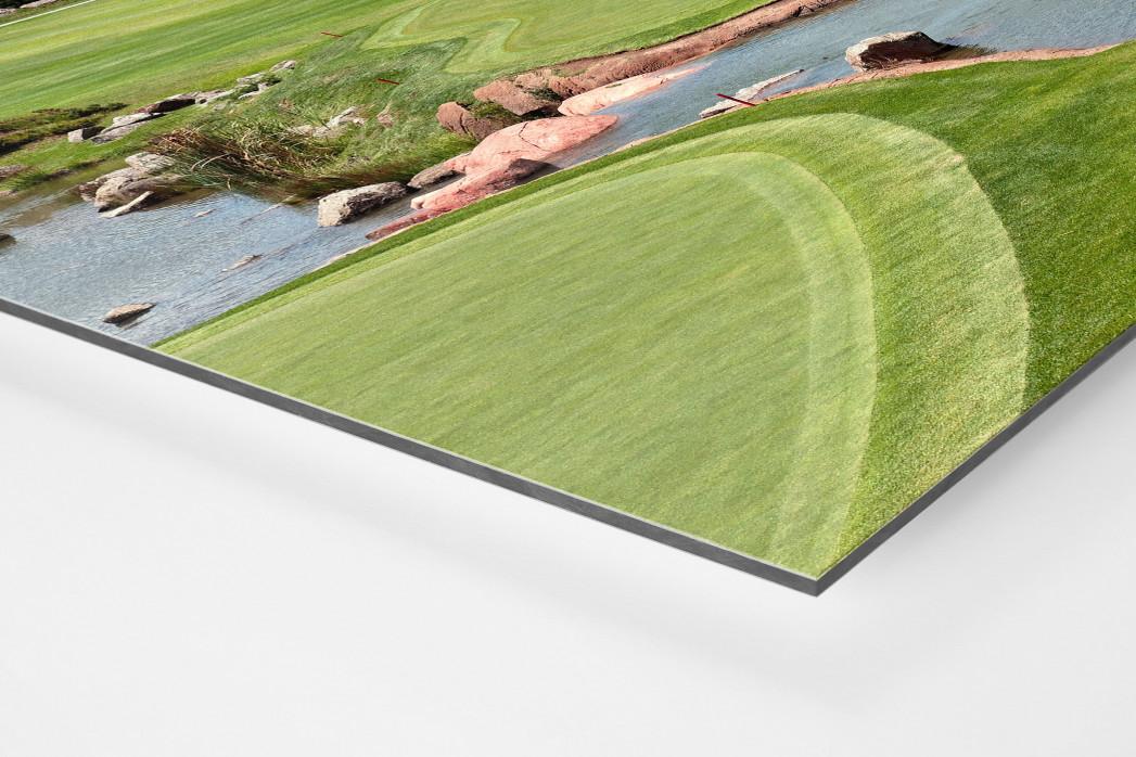 Sun City Golfresort als auf Alu-Dibond kaschierter Fotoabzug (Detail)
