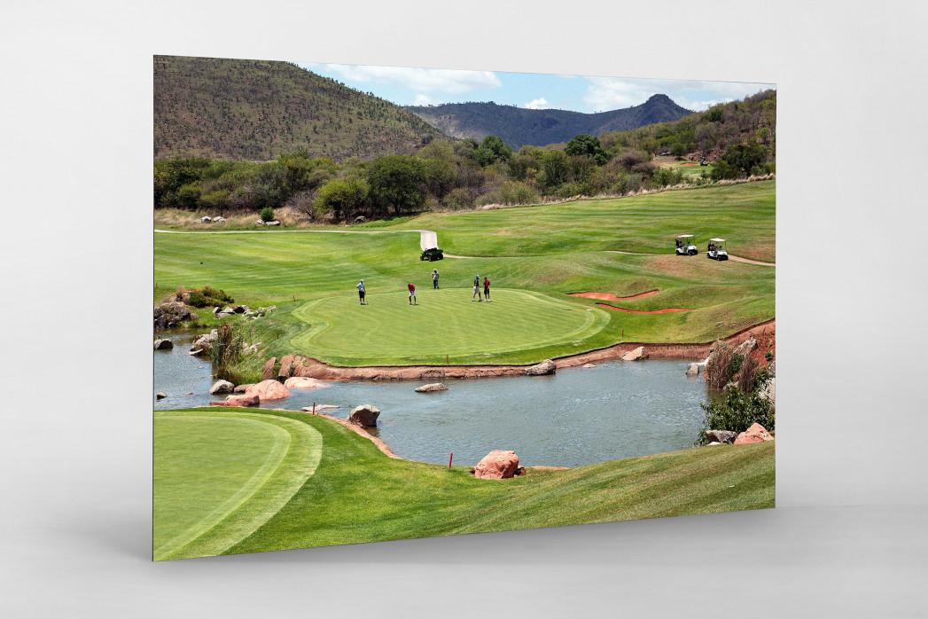 Sun City Golfresort als auf Alu-Dibond kaschierter Fotoabzug