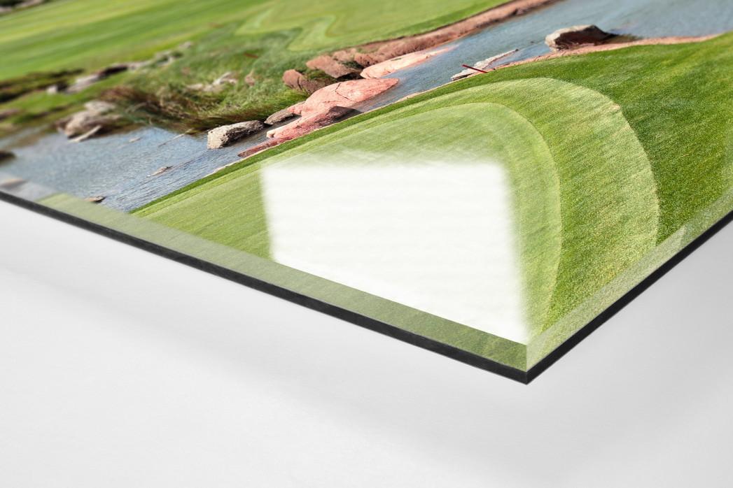 Sun City Golfresort als Direktdruck auf Alu-Dibond hinter Acrylglas (Detail)
