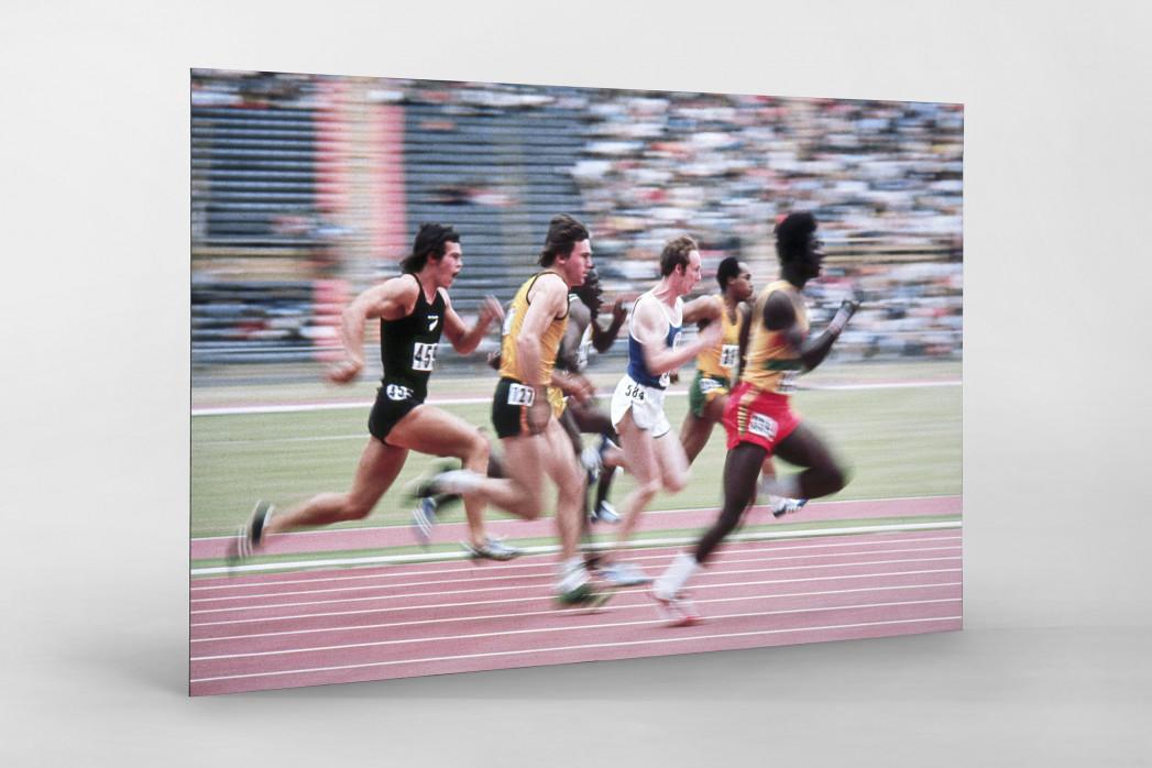 Sprinten 1974 als auf Alu-Dibond kaschierter Fotoabzug