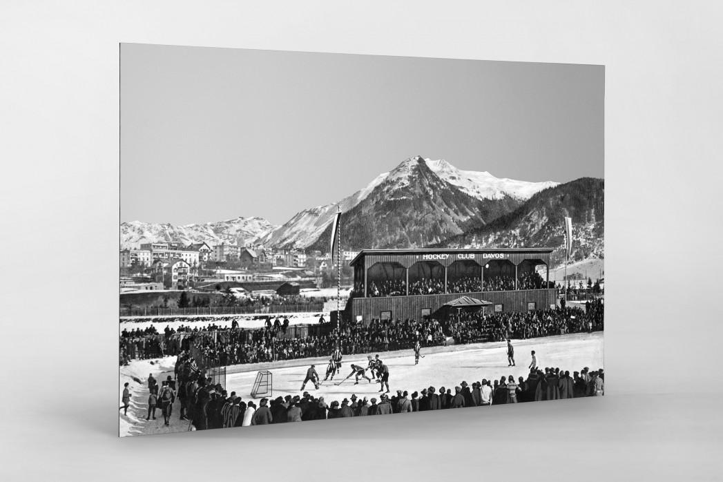 Hockey Club Davos als auf Alu-Dibond kaschierter Fotoabzug