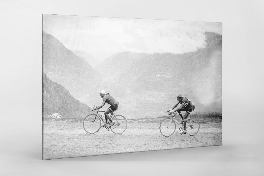 Hinterher bei der Tour 1949 als Leinwand auf Keilrahmen gezogen