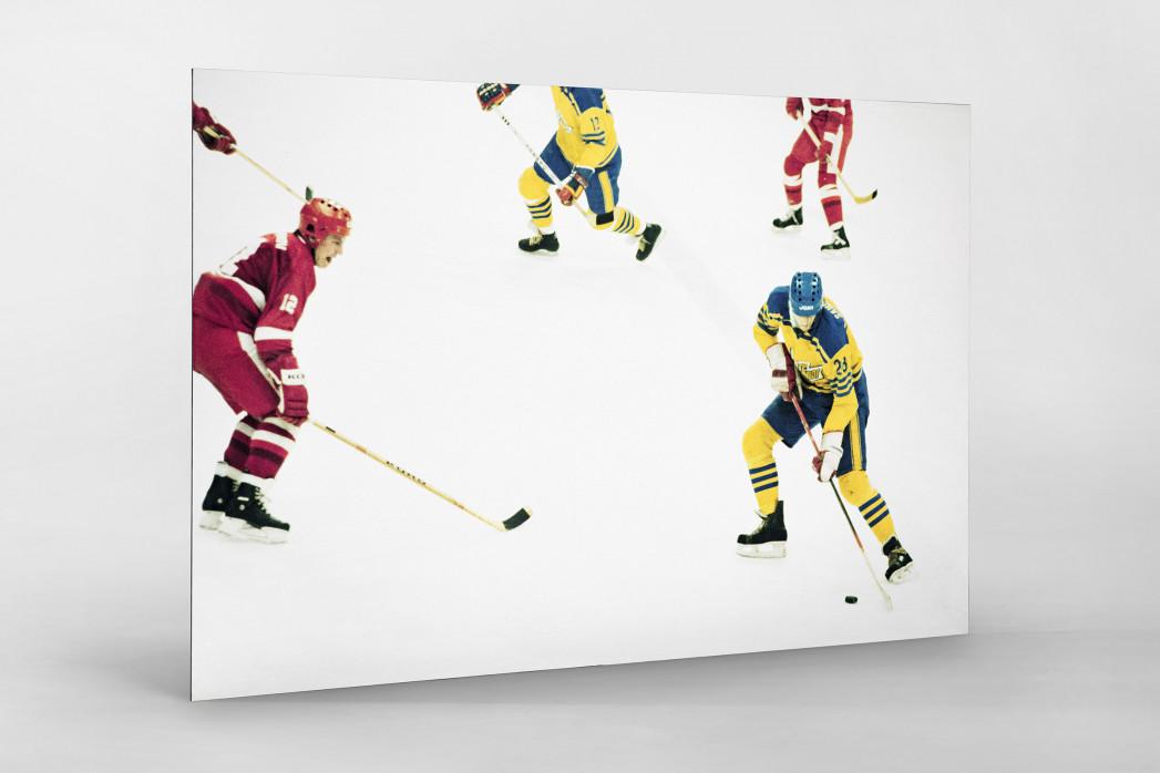 UDSSR vs. Schweden 1984 als auf Alu-Dibond kaschierter Fotoabzug