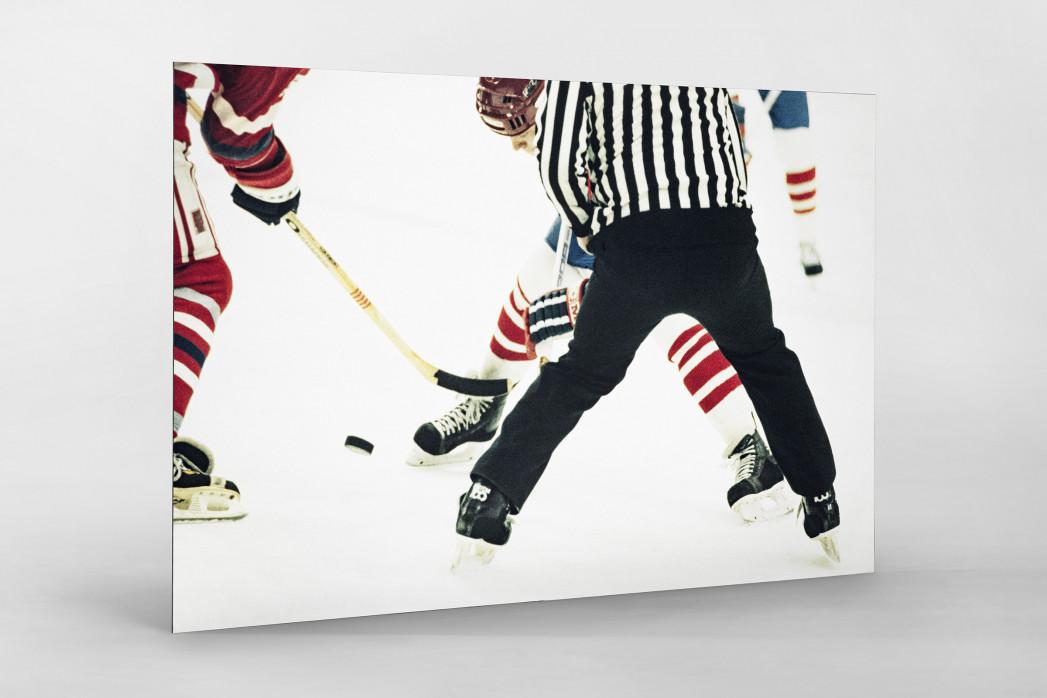 ČSSR vs. Kanada 1984 als auf Alu-Dibond kaschierter Fotoabzug