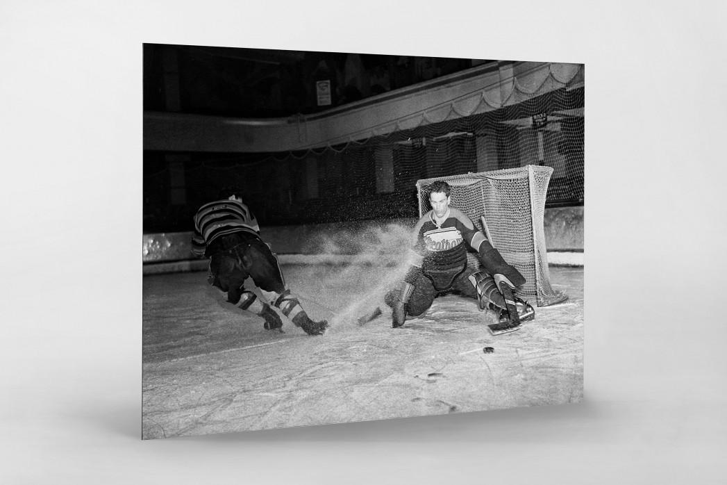 Der Goalie von Streatham als auf Alu-Dibond kaschierter Fotoabzug