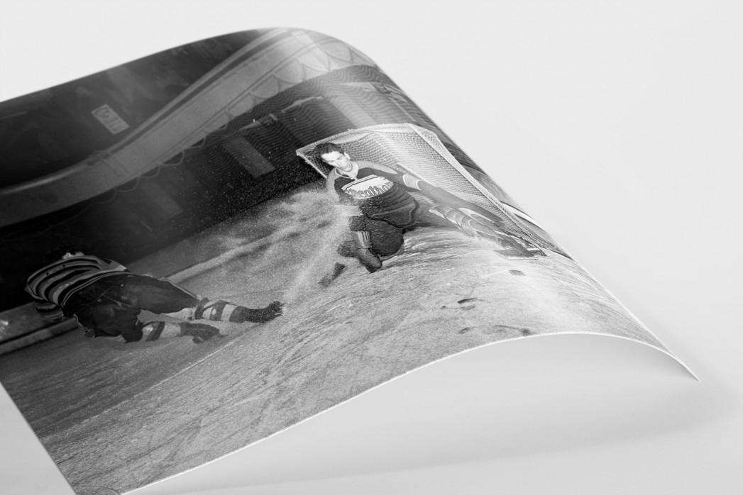 Der Goalie von Streatham als FineArt-Print