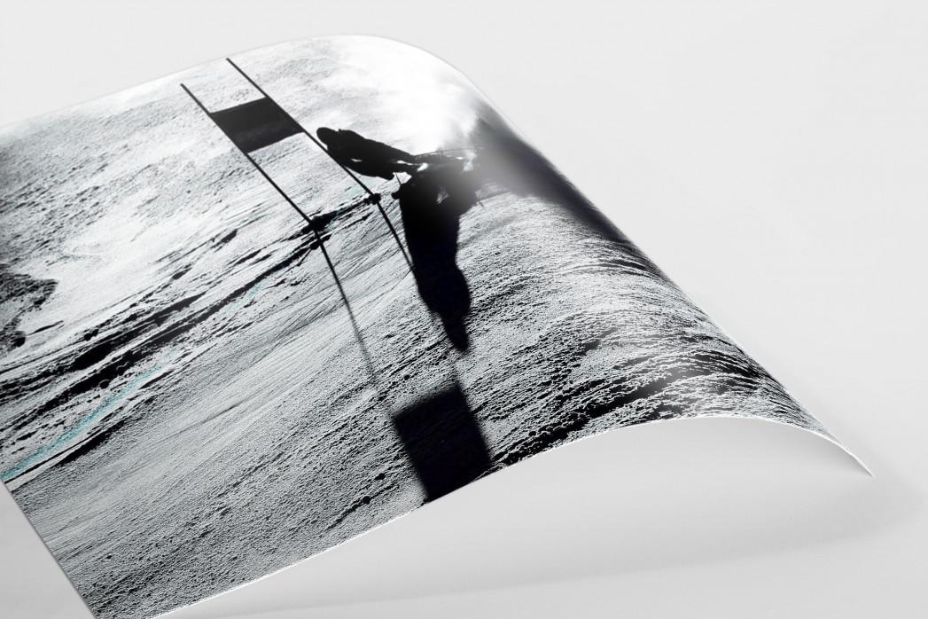 Slalomschatten als FineArt-Print