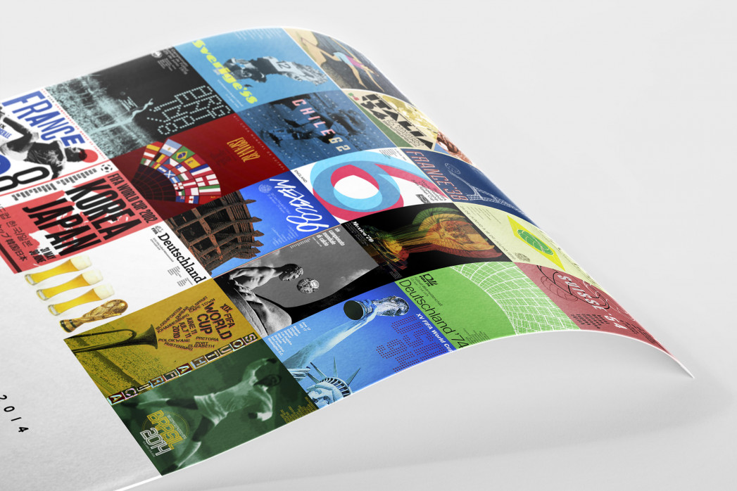 Collage 1930 - 2014 als Poster