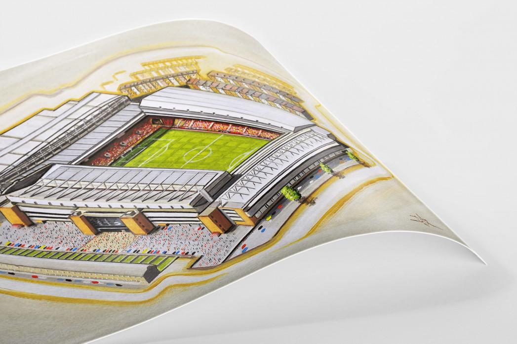 Stadia Art: Anfield (2) als Poster