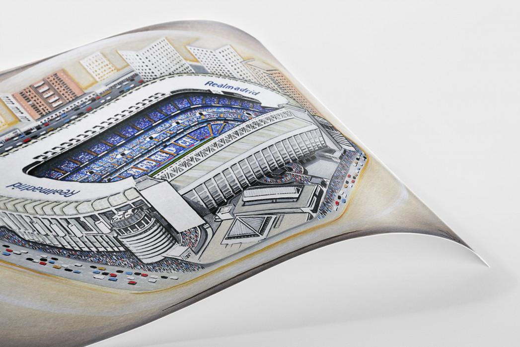 Stadia Art: Bernabéu als Poster