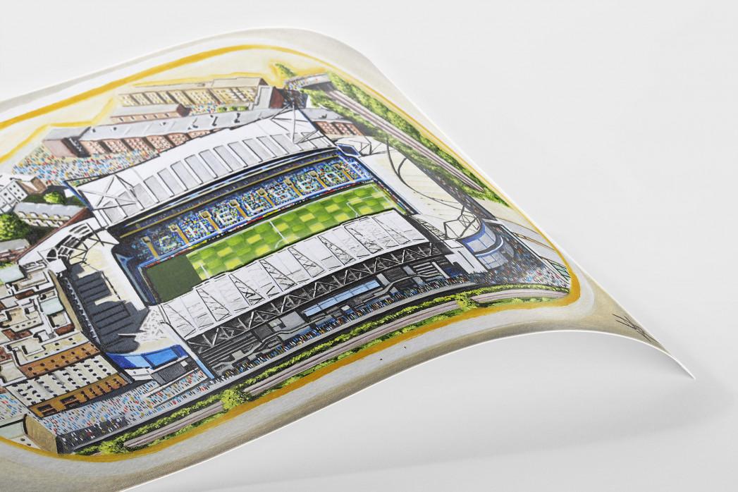 Stadia Art: Stamford Bridge als Poster