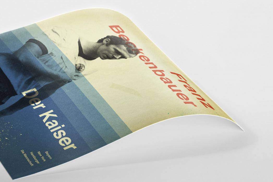 Beckenbauer als Poster