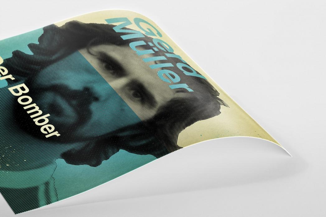 Müller als Poster