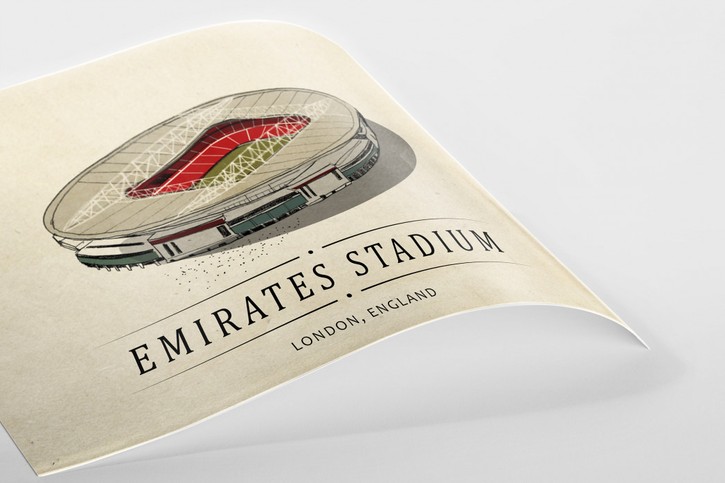 World Of Stadiums: Emirates Stadium als Poster