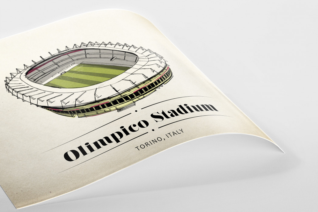 World Of Stadiums: Olimpico Stadium als Poster