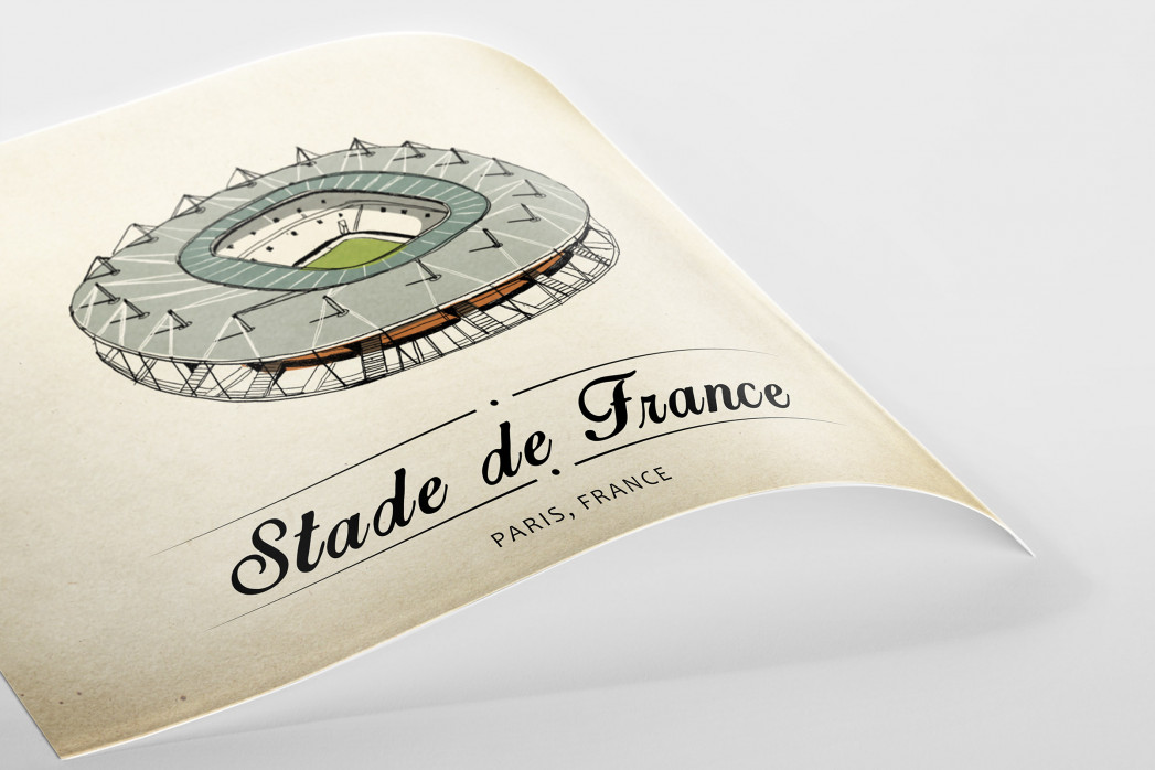 World Of Stadiums: Stade de France als Poster