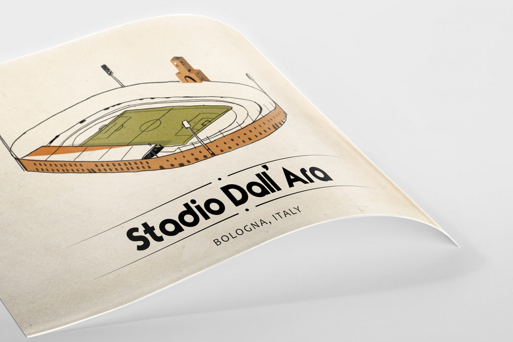 World Of Stadiums: Stadio Dall'Ara als Poster