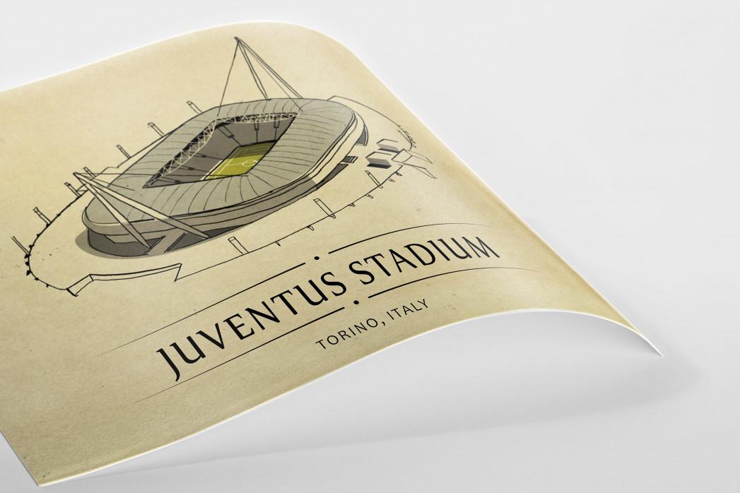 World Of Stadiums: Juventus Stadium als Poster