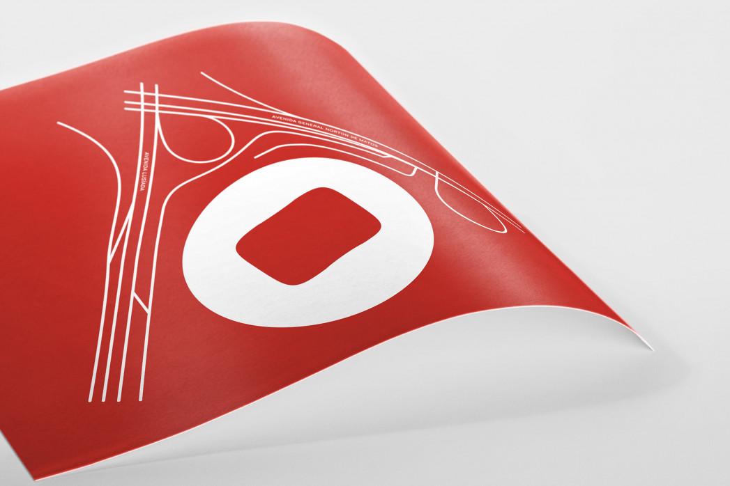 Piktogramm: Benfica als Poster