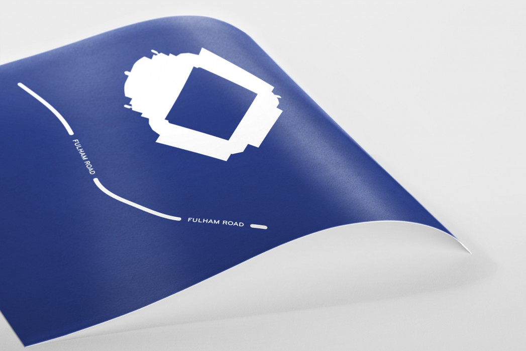 Piktogramm: Chelsea als Poster