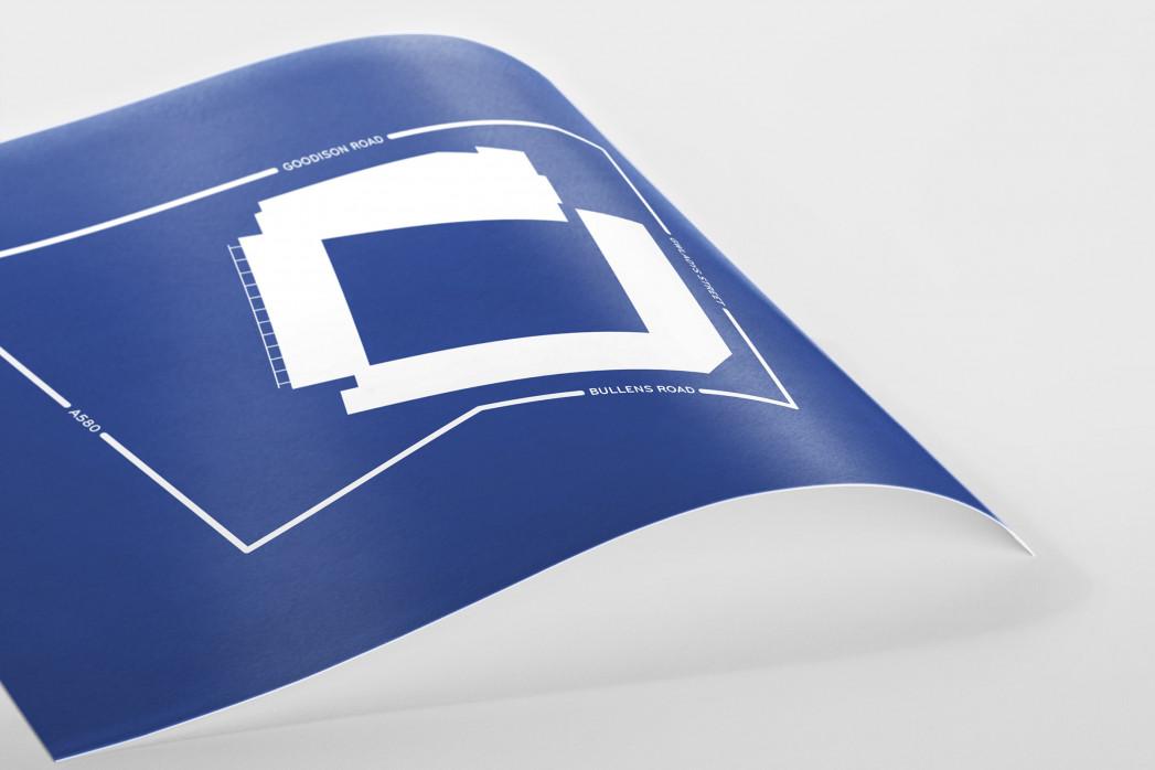 Piktogramm: Everton als Poster