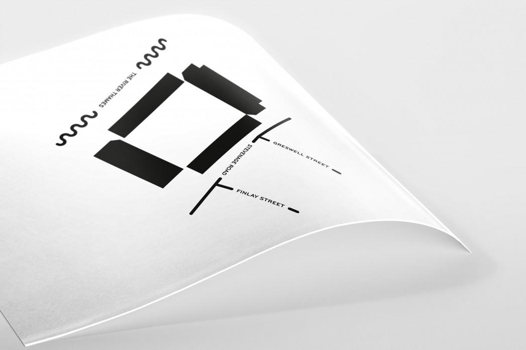 Piktogramm: Fulham als Poster