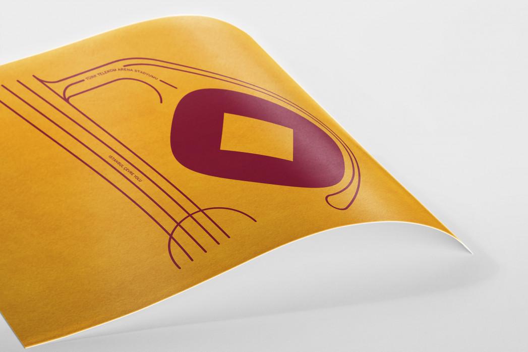 Piktogramm: Galatasaray als Poster