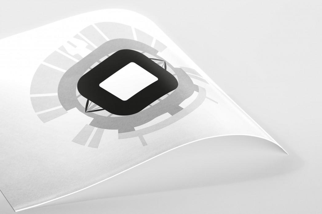 Piktogramm: Juventus als Poster