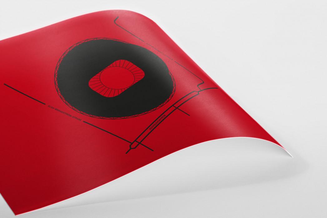 Piktogramm: Leverkusen als Poster