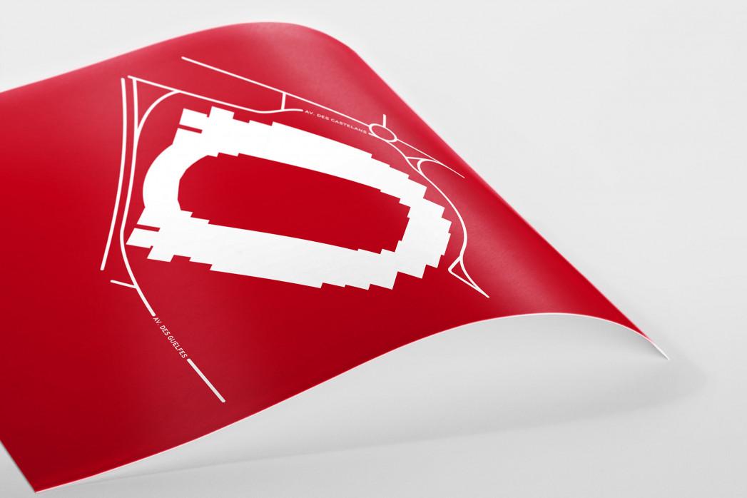Piktogramm: Monaco als Poster