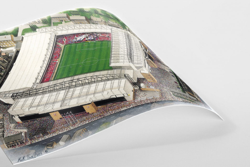 Stadia Art: Anfield (3) als Poster