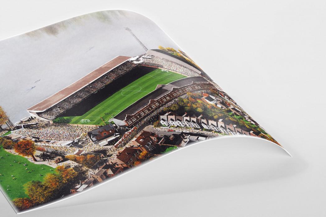 Stadia Art: Craven Cottage (aerial) als Poster