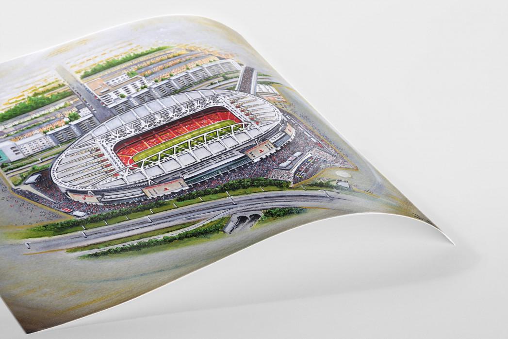 Stadia Art: Emirates Stadium (2) als Poster