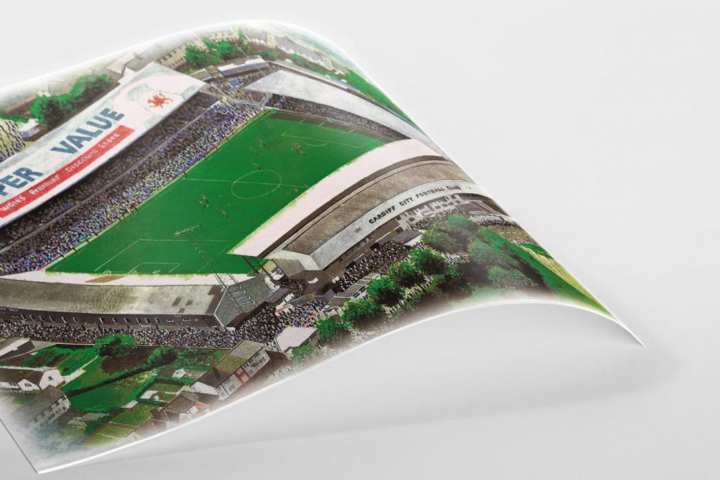Stadia Art: Ninian Park als Poster