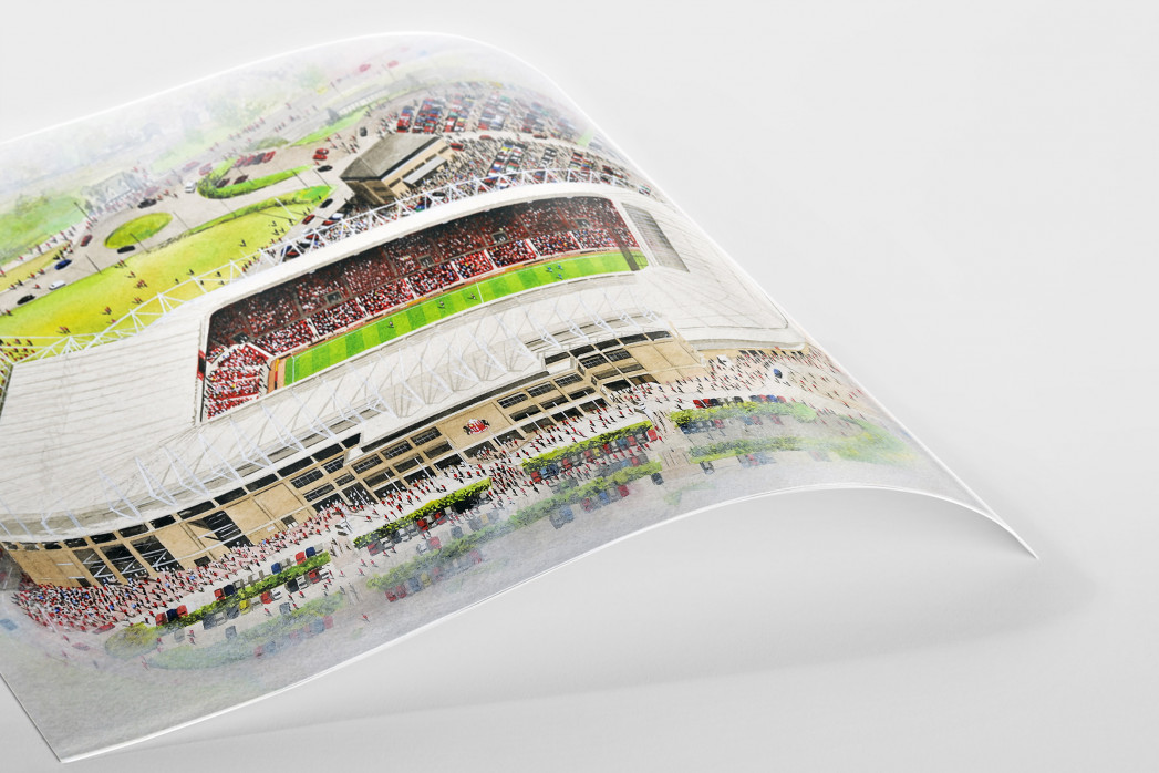 Stadia Art: Stadium Of Light als Poster