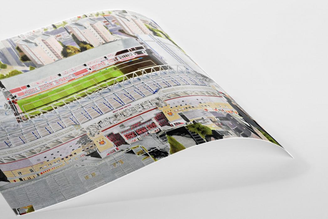 Stadia Art: Upton Park (2) als Poster