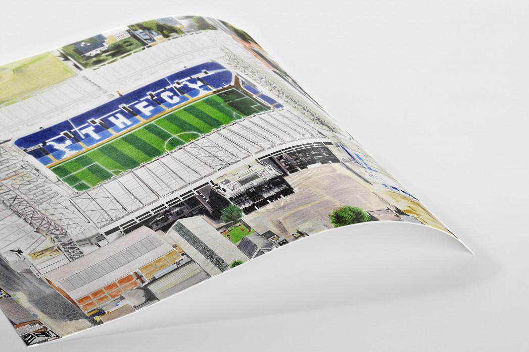 Stadia Art: White Hart Lane (1) als Poster